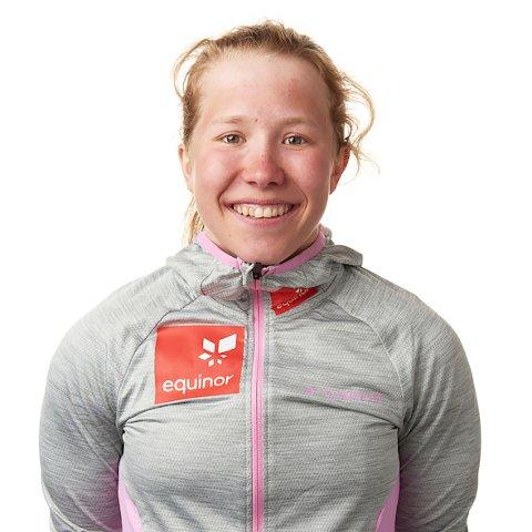Helene Marie Fossesholm fra Vestfossen er klar for junior-VM. Foto: Frederick Kihle