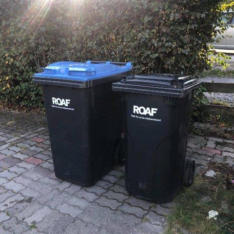 NYE BEHOLDERE: Slik ser de nye avfallsbeholderne til ROAF ut.