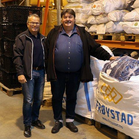 Hallgeir Frøystadvåg har ansatt Vidar Danielsen som daglig leder for den nye avdelingen i Honningsvåg.