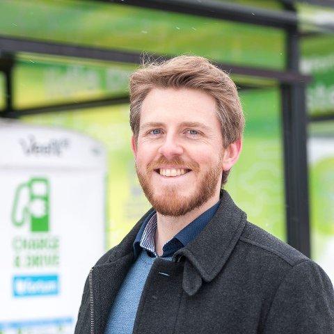 Stian Mathisen, kommunikasjonssjef i Fortum