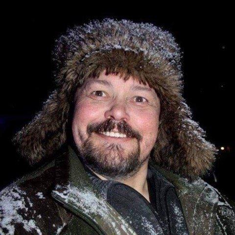 Frits Otto Johansen er som mange andre av oss i nord, en smule lei av vinter.