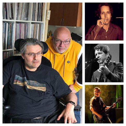 NY MUSIKK: Platearbeidaren og Hjorthen snakkar om ny musikk, mellom anna frå Chuck Prophet, Joe Henry og Frank Hammersland