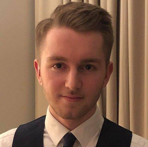 AMBISIØS: Sebastian Fløysand Kvalheim er ekstremt ambisiøs på Dreyer Kvalheim AS sine vegner. – Dette kan bli business, seier han.