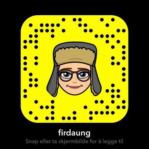 Legg oss til på Snapchat då! :)
