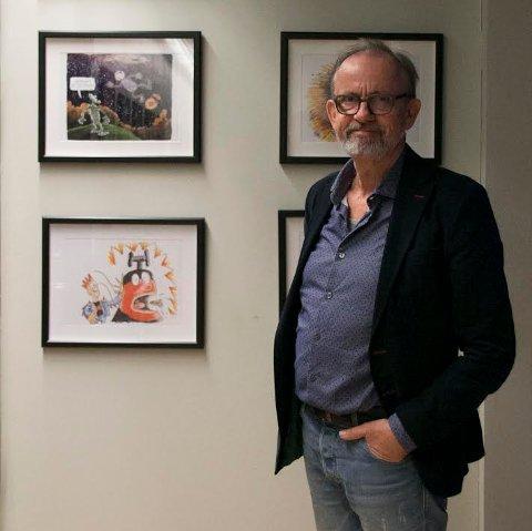 Ærespris: Den danske multikunstneren Gunnar Wille er stolt over å være årets hedersgjest.