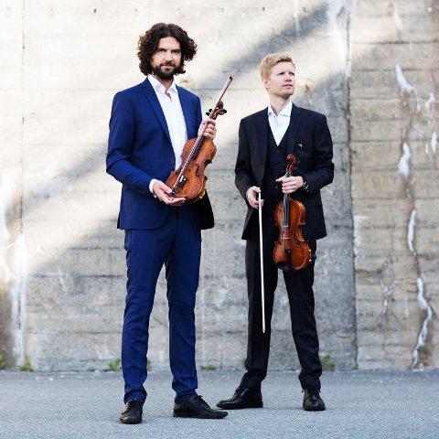Brødrene Einar Olav og Gjermund Larsen skal delta på Borg domkors  adventskonsert «I denne søde juletid».