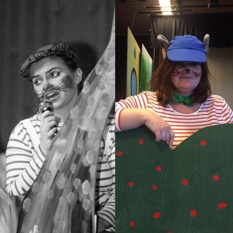 Før og nå: Det er 27 år siden Ann-Kristin Adolfsen sist stod på scenen som Klatremus.