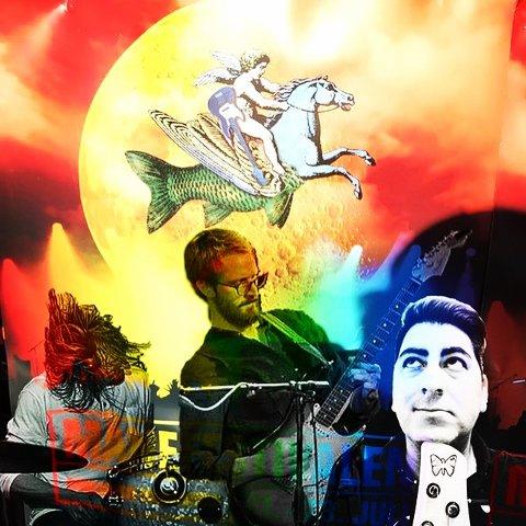 Ystrøm Unit: Slik fremstår bandet på plakaten.