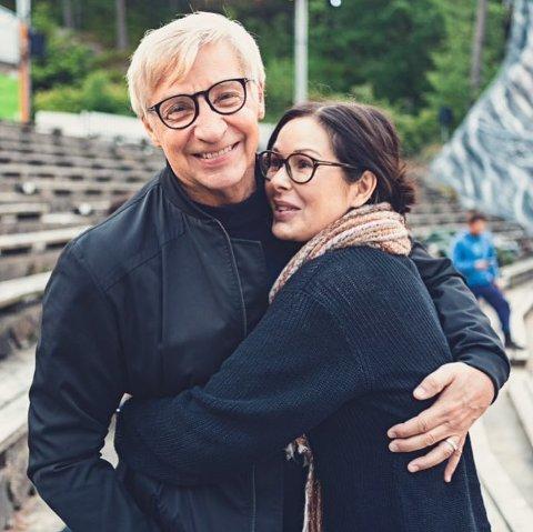 Terje Formoe og Therese Falk gifter seg 11. august i Nord-Norge.