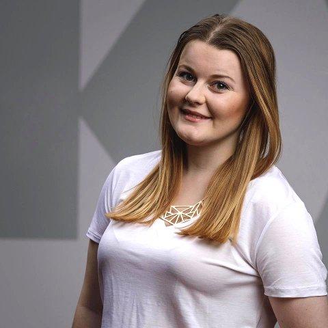 Vil mer: Katrin Gjerdrum vil gjerne ha mer ut av jobben hos Circle K. Hun vil bruke talentet sitt.