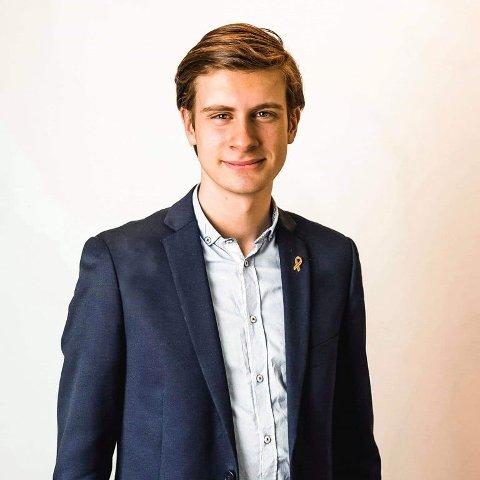 Bystyrekandidat Njål Gustavsen