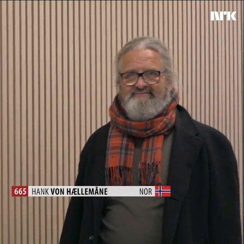 «Hank von Hællemåne» dukker opp i videoen fra Fredrikstad.