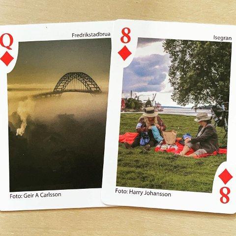 FBs fotografer Geir A. Carlsson og frilanser Harry Johansson har bidratt med hvert sitt bilde i kortstokken.