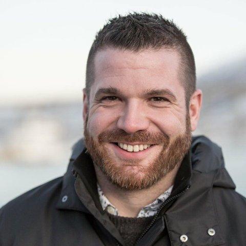 DAGLIG LEDER: Hans Fredrik Sørdal fra Ballangen flytter til Bodø for å starte i ny jobb. Arkivfoto