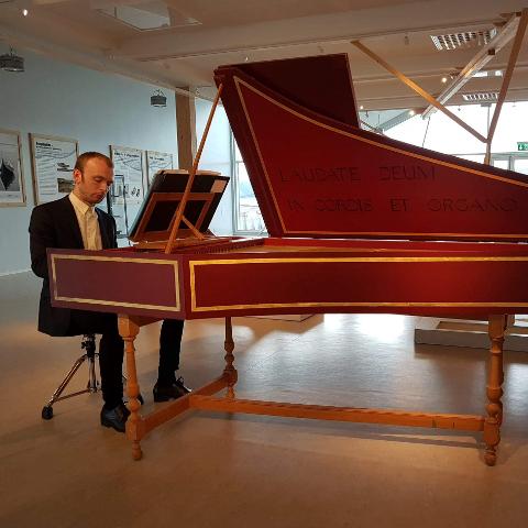 Bærende element: CembalistenSebastian Rolland tilfører tidligmusikken en touch av jazz.