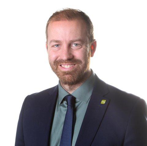 FERGEPRISER: Håkon Møller, gruppeleder for Miljøpartiet De Grønne på fylkestinget i Nordland.