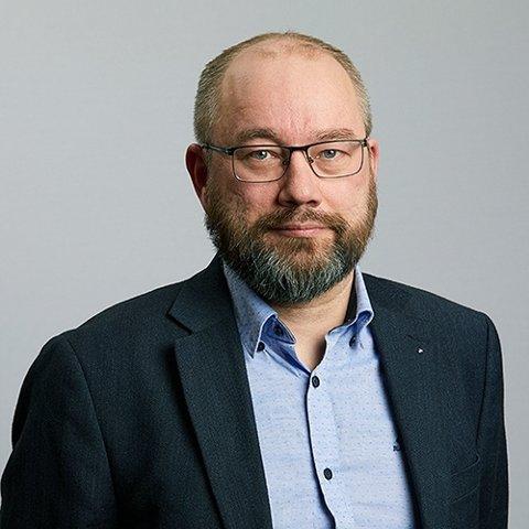 Torbjørn Bongo,  leder av Norges offisers- og spesialistforbund (NOF)