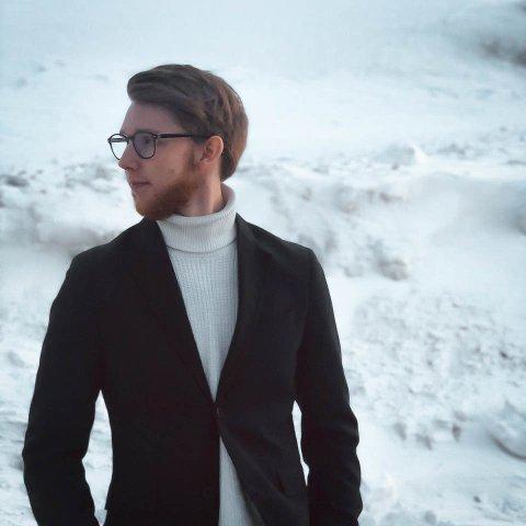 Christian Aavitsland (22) fra Rana har startet konsulentfirma på Ankenes.