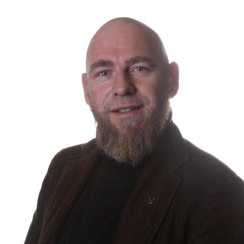 VARSELLAMPENE BLINKER: Stortingskandidat for Rødt i Nordland, Geir Jørgensen, ser alvorlig på ILA-utbruddene i Ofoten.
