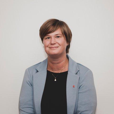 STØTTE OG FORSTÅELSE: Kristine Aas Frøysa i  Arbeiderpartiet tar et oppgjør med hatefulle kommentarer.