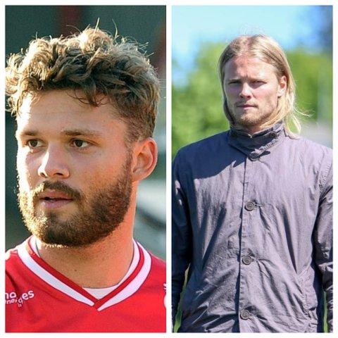 Rogvi Baldvinsson og Birkir Bjarnason er begge tatt ut til landslagene sine. Baldvinsson skal spille for Færøyene, mens Bjarnason skal representere Island