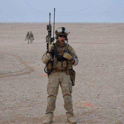 Haakon Heyeraas var i 2017 utstasjonert i Anbar i Irak, hvor Norge hjalp å frigjøre provinsen fra terrorgruppen IS.