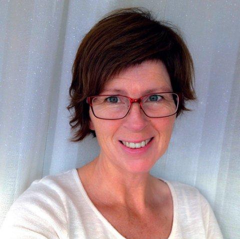 Kristin Merete Kolbu fra Lillehammer tok beste leserbilde i april med opp-ned-frokost.