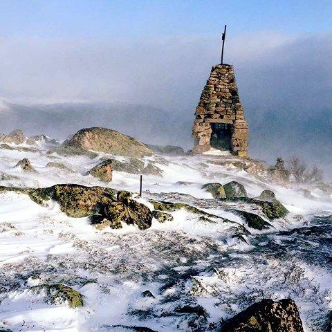6. TUSSHEIM: Varde i snø på Lesja. Foto: Eirik Røysheim