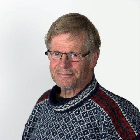 VERTSKAP: Leder av fylkesarkivet, Svein Amblie.