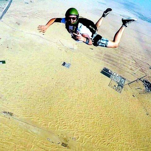10. Skydive Dubai med Lesja fallskjermklubb. Foto: Tormod Storhaug Rognerud
