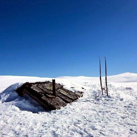 """9. Det vil ta tid å spa fram """"dassbue"""". Foto: Petter Ulen"""