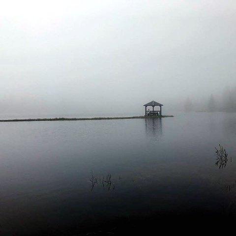 2. EFTASTJERNET: Tåke i Ringsakerfjellet.