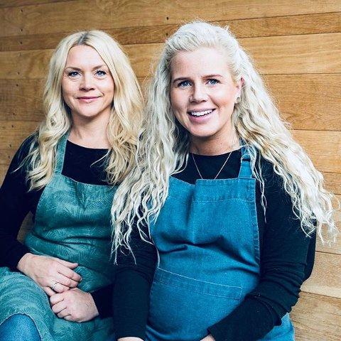 Mary-Janne Nystøl og Camilla Håvemoen fra Lillehammer står bak firmaet FruityFriendly.