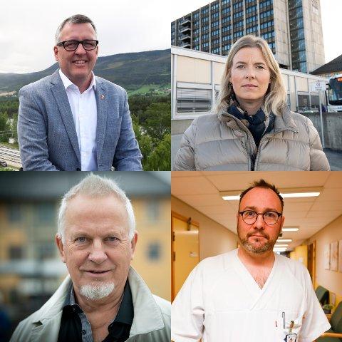 Det er mange reaksjoner på opplysningene om at Lillehammer får akuttsjukehuset.