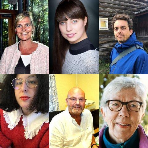 AKTUELL I ALLE ALDRE: Det er mange gode grunner til å Lese Kristin Lavransdatter, mener Kristin Brandtsegg Johansen (54), Kristine Berget (27), Olav Brostrup Müller (41), Marie Nikazm Bakken (31) Einar Gelius (61) og Nan Bentzen Skille (75).