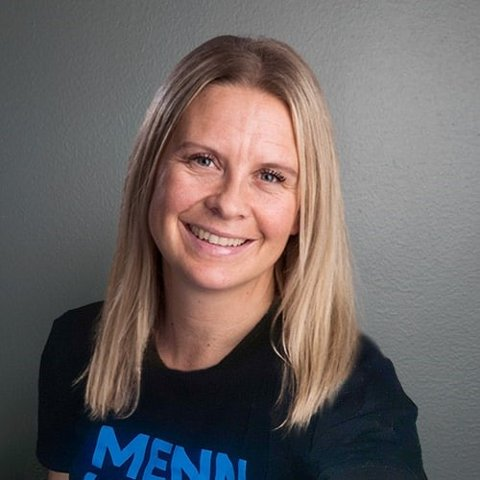 NY JOBB: Britt Klokkervoll er ansatt som fylkeskoordinator i Innlandet for ordningen Menn i helse.