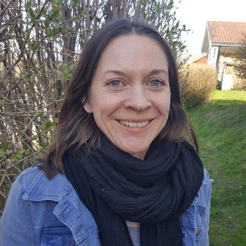 ØKNING: Biblioteksjef Guro Skretteberg på Jevnaker forteller om en liten økning i utlånet. Arkivfoto