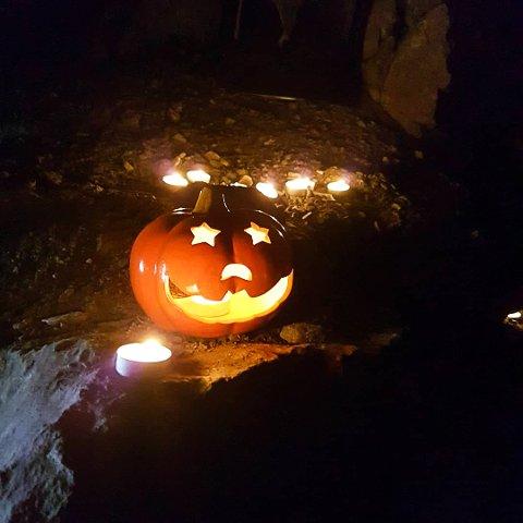 Halloween-feiring i Nysetergruvene