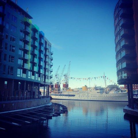 LEILIGHETER: Markedet for utleie av leiligheter er stort i Oslo. Her fra Sørenga. Foto: Rune Pedersen