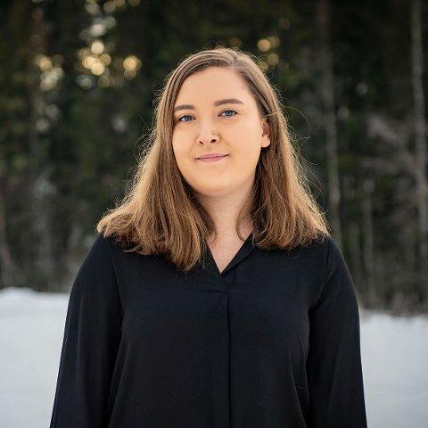 GLEDER SEG: Linda Brunstad gleder seg til å vise fram hva danserne fra GoodVibe dansestudio har lært.