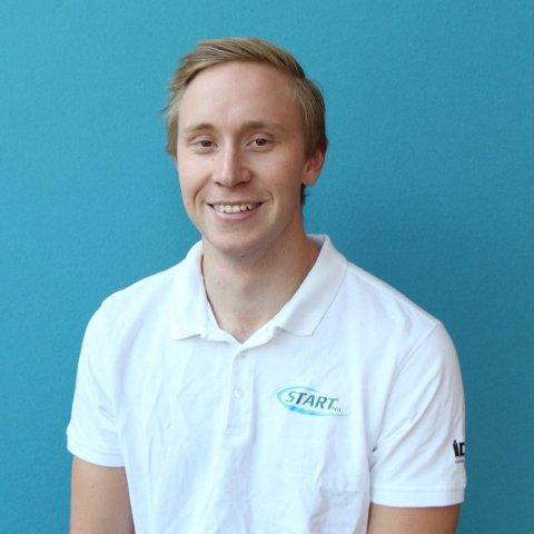 UNGDOMSKANDIDAT: Karl Andreas Sagadalen (22) er en av Hadelands ungdomskandidater til valget i september.