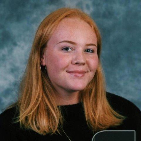 UNGDOMSKANDIDAT: Eirin Øverlier er en av 30 ungdomskandidater som står på liste for et lokalt parti til valget i september.