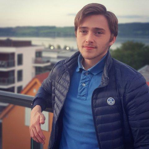 Iver Lieberg Stieng er ungdomskandidat på Gran Høyres liste.