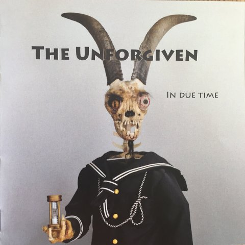 "COVERET: Slik ser coveret ut til ""In Due Time"". Timeglasset er på plass, som vi ser."
