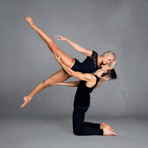 3. PREMIE: «Danseurs La Passion» av Vibeke Havenstrøm.