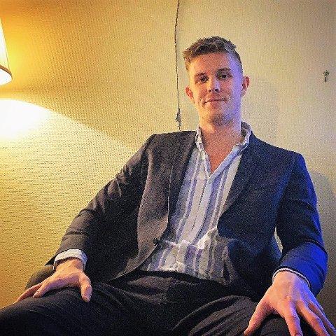 TIL HALDEN: Den danske bakspilleren Jonas Jensen har signert en 2 års kontrakt med Halden Topphåndball. Han slutter seg til ulveflokken 1. juni.
