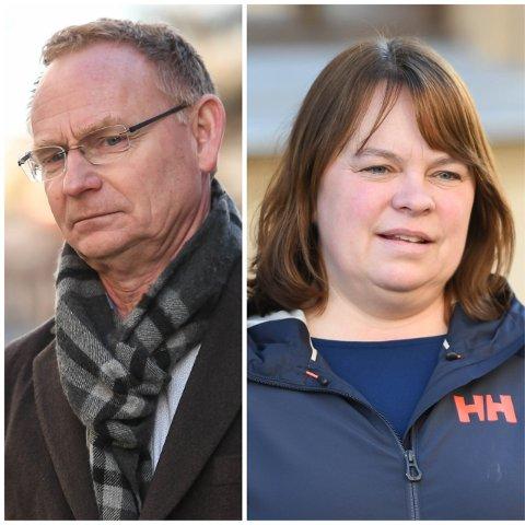 Kommunedirektør Roar Vevelstad og kommuneoverlege Kjersti Gjøsund forteller hvorfor de velger å ikke ha egne lokale koronatiltak i Halden neste uke.