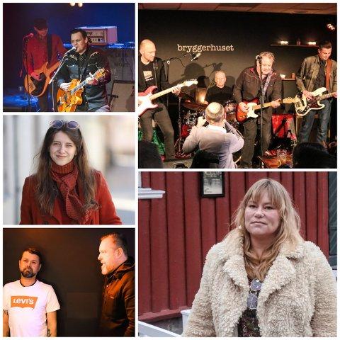"""Her er noen av Halden-artistene som får låtene sine spilt av i den internasjonale versjonen av NRK-serien """"EXIT""""."""