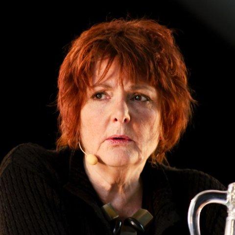 TIL FESTIVALEN: Cecilie Løveid fikk kritikerprisen for «Vandreutstillinger».