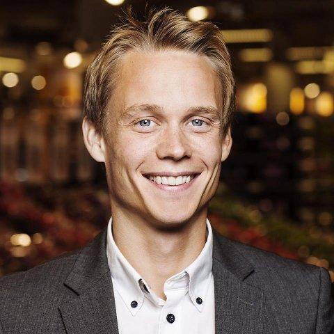 FRA BOLIGPARTNER: Bjørnar Mickelson jobber i dag hos Boligpartner. Fra i sommer blir han informasjonssjef i SpareBank 1 Østlandet.